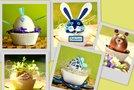 Velikonočna jajčka - kolaž