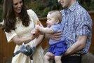 Kate Middleton, princ William in George v živalskem vrtu - 11