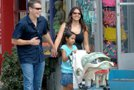 Matt Damon z družino