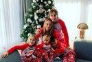 Luka Modrić z družino