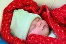 Dojenček pozimi