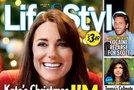 Kate Middleton tretjič noseča - naslovnica