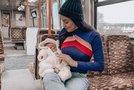 Sanja Grohar s sinčkom