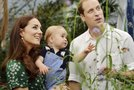 Kate Middleton, princ William in sin George
