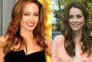 Kate Middleton in Angelina Jolie