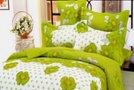 Zelena posteljnina