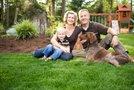 Družina s psom