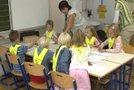 Šolarji z učiteljico