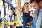 Potniki na avtobusu
