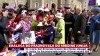 Kraljica bo praznovala do sredine junija