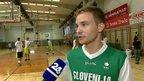 Tomaž Uršič, oboževalec košarke