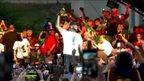 LeBron James s someščani slavi naslov prvaka lige NBA