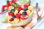 Melona s sadeži