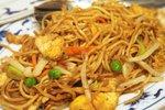 Piscanec chow mein