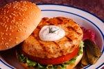 Lososov burger