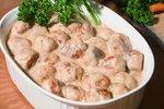 Telečje mesne kroglice v omaki