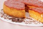 Rižev kolač z marmelado iz češnjevih paradižnikov