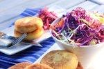 Krompirjeve polpetke s šunko