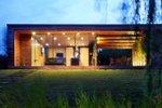 Madžarska, lesena hiša
