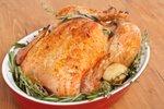 Pečen piščanec z rožmarinom