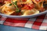 Sirovi ravioli s paradižnikovo omako s panceto