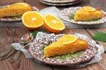 Pomarančni kolač s polento