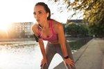 Ženska, ki telovadi - 3