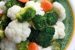 Solata iz brokolija in cvetače