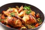 Pečen piščanec z zelenjavo