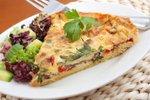 Zelenjavna pita in solata