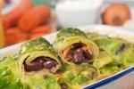 Zelenjavni zvitki s fižolom