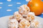 Pomarančne kokosove kroglice