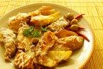 Začinjen pečen krompir s parmezanom