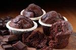Rženi dvojni čokoladni mafini