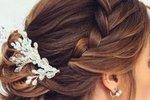 Poročna frizura za dolge lase