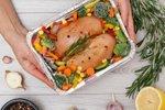 Hrana za v mikrovalovno pečico