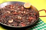 Črna paella