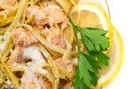 Špageti z lososom in smetano