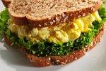 Sendvič z jajčno solato