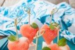 Prigrizki iz lubenice in fete