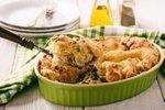Kruhov narastek s piščancem in sirom