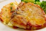 Svinjski kotleti z medeno-gorčično omaki