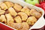 Jabolčni cmoki v pečici