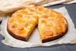 Preprost marelični kolač