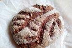 Brezglutenski tefov kruh