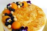 Brezglutenski cheesecake z marelicami