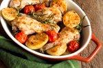 Pečen piščanec in krompir