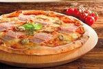 Pica s šunko in sirom