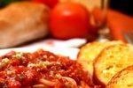 Špageti s preprosto omako