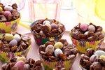 Čokoladna velikonočna gnezda